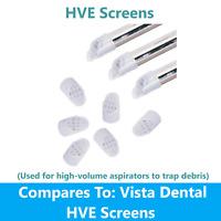 Dental HVE Screens Disposable (For high-volume aspirators to trap debris), 100Bg