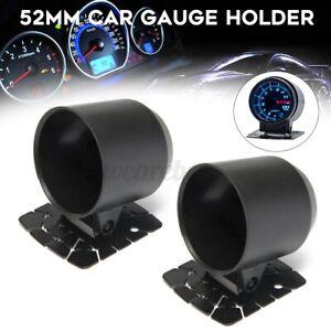 "2 x 2"" 52mm Car Racing Oil Water Temp Single Meter Gauge Holder Dash Mount Cup"