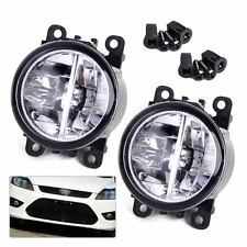 2x Right Left LED Fog Light Lamp AC2592111 Fit Ford Focus Nissan Subaru Suzuki