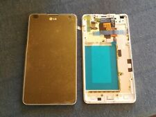 LG OPTIMUS G E975 LCD DISPLAY + TOUCHSCREEN + FRAME WHITE ACQ86366902 original