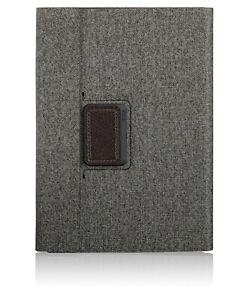 Tumi Textured Coated Canvas Rotating Folio Case For Ipad Pro 9.7 EARL GREY - NEW