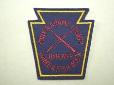 York & Adams County Hanover Game & Fish Association Keystone Shape Patch #1
