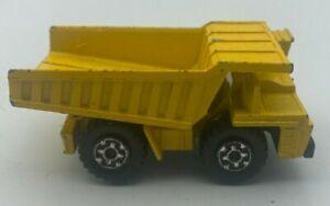 Vintage 1976 Lesney Matchbox Superfast No 58 Faun Dump Truck