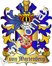 ✳ Adelstitel = GRAF / GRÄFIN von WARTENBERG =  ✳ Freiherr Baron Fürst Freiherr