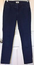 Old Navy Size 0 Regular The DIVA Medium / Dark Blue Wash Skinny Leg Short Nice!!
