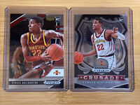 LOT OF 2 TYRESE HALIBURTON 2020 PANINI PRIZM DRAFT PICKS RC MINT! KINGS NBA