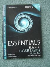 Lonsdale Essentials Edexcel GCSE Maths Higher Tier Revision Guide