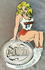 HOOTERS 1983-2003 20th Anniversary PIN Sexy Blond Waitress Girl - SOUTH LAKELAND