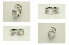 Wedding without Stone Sterling Silver Rings for Men