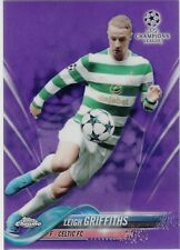 2017/18 Topps Chrome Champions League Purple #68 Leigh Griffiths Celtic /250