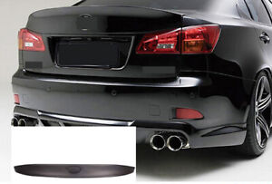 Rear Trunk Boot Spoiler Resin for 06-13 Lexus IS GSE20 GSE21 2.5L 3.5L 6cyl