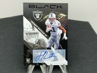 Henry Ruggs III 2020 Panini Black Rookie Auto SP /25 Raiders