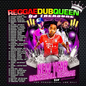DJ Treasure - New Year Dancehall Reggae Mixtape. Reggae Mix CD.