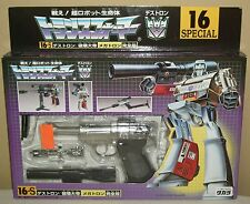 Transformers 16-s Destron Megatron G1 Figures Dolls Takara Unopened NIB Rare