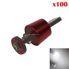 100x White Car T10 W5W Tail Bulb Clearance Lamp PCB 3 CREE LED 280 285 447 Z2054
