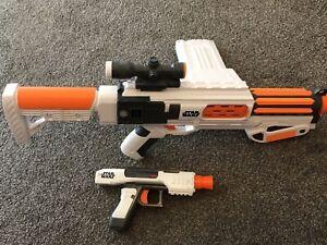 Nerf Gun Star Wars Rifle And Pistol