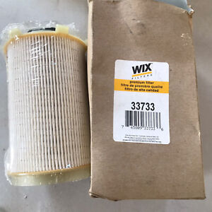GENUINE WIX 33733 FUEL FILTER FOR DODGE 6.7L TURBO DIESEL 68061634AA