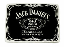 Jack Daniel`s Belt Buckle Old No 7 Brand Black Authentic Officially Licensed