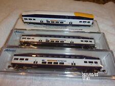 N Scale Bombardier Passenger Cars 3 by Athearn