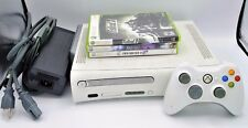 Microsoft Xbox 360 Fat Console Bundle w/ Controller, Cables and 3 Games