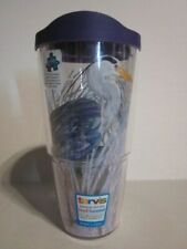 NEW - TERVIS - HERRON 24 oz. with Matching Purple Lid