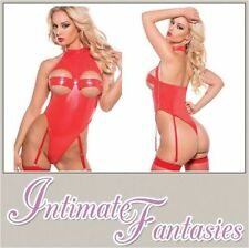 ALLURE Halter Basques & Corsets for Women with Suspenders