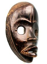 Art Africain Tribal - Masque de Course Dan - Traces d'Erosion - 22,8 Cms +++++++