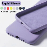 For Samsung Galaxy J4 J6 Plus 2018 Liquid Silicone Simple Color Phone Case Cover