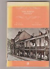 THE ROCKS SYDNEY sketchbook Unk White, text by Olaf Ruhen, h/c d/j vgc 1982