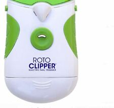 Roto Clipper Electric Nail Trimmer Safe Smooth Even Finishes Easy Grip Cordless