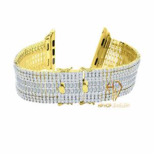 Apple Watch Series 4~6 Custom Baguette Wrist band Replacement 44mm Bracelet Band