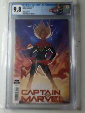 Captain Marvel #1 1:25 Adam Hughes Variant CGC 9.8, 1st app Ripley Ryan Star!