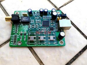 XMOS XU208 Asynchronous USB Digital Interface Coaxial DSDOP IIS Output DSD128