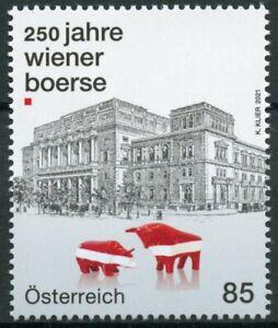 Austria 2021 MNH Architecture Stamps Vienna Stock Exchange 250 Yr Tourism 1v Set