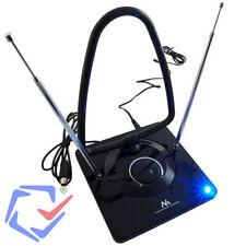 Aktive DVB-T2 DVBT Antenne TV Radio Zimmerantenne 45 dB Verstärkung Netzteil