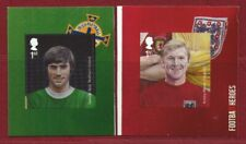 SG3475/6 - 2 x 1st SELF ADHESIVE STAMPS FROM THE FOOTBALL HEROES BOOKLET  PM37