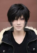 hot! DuRaRaRa Orihara Izaya black short cosplay wig free shipping J2447