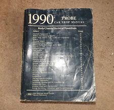 OEM 1990 Ford Probe Car Shop Manual