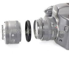 ANELLO MASCHIO MASCHIO 58 - 58 mm. INVERSIONE MACRO COUPLER RACCORDO MICRO MACRO