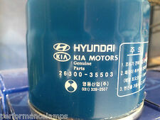 Genuine Oil Filter KIA HYUNDAI IX35 I30 I20 GETZ ACCENT XD CERATO FITS MOST Z79A