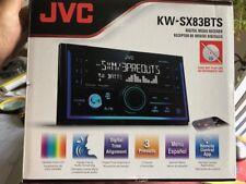 JVC KW-SX830BTS 2-Din Bluetooth / USB / SiriusXM / Pandora / Spotify  13-Band EQ