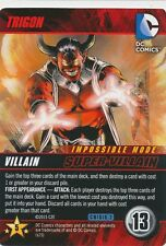 TRIGON DC Comics Deck Building Game card CRISIS 2