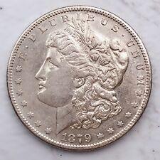1879-S Morgan Silver Dollar 90% Silver $1 Coin Us #Q77