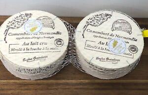Raw Milk Camembert Of Normandy  2 X 250g Gold Award Winning French Cheese