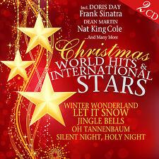 CD Christmas World Hits & Internationale Stars von Various Artists  2CDs