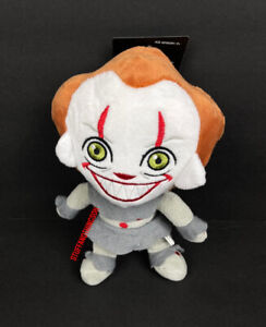 """It! Pennywise 8"""" Halloween Horror Plush Dog Pet Toy with Squeaker NEW 2021"""