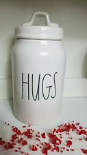 Rae Dunn Valentines Day HUGS Canister NEW