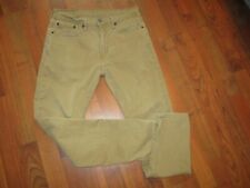 Men's Levi's 502 Brown Jeans Tag Size 32 x 32 Measured Size 32 x 30 Tapered Leg