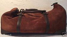 Malboro Suede Leather Mens Traveller's Bag duffle
