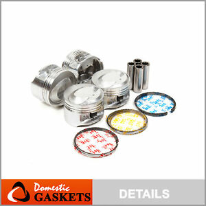 Pistons and Rings fit Mercury Tracer Ford Focus Escort 2.0 Vin P SOHC